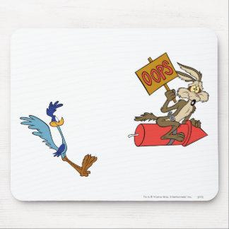 Kojote des Wile-E und STRASSE RUNNER™ Mousepad