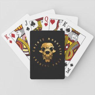 Kojote-Gebirgsspielkarte-Standardausgabe Spielkarten