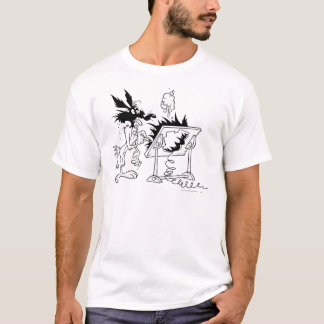 Kojote-Gipfel-Produkte 6 des Wile-E T-Shirt
