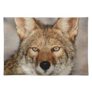 Kojote herauf nahes tischset
