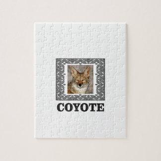 Kojote in einem Kasten Puzzle