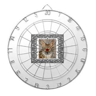 Kojote in einem Rahmen Dartscheibe