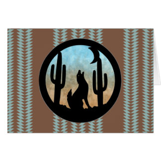 Kojote-Mond Karte