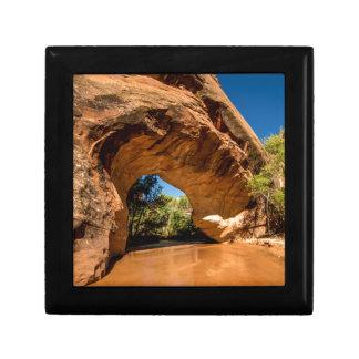 Kojote-natürliche Brücke - KojoteGulch - Utah Geschenkbox