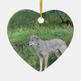 Kojote-Sammlung Keramik Ornament