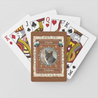 Kojote - Trickster-klassische Spielkarten