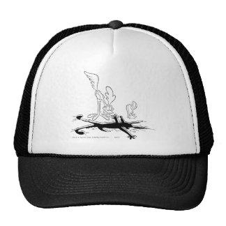 Kojote-und Roadrunner-Gipfel-Produkte 3 des Wile-E Baseball Cap