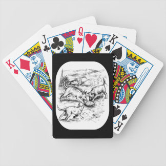 Kojote-Welpen Bicycle Spielkarten
