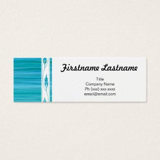 Kokettes Geschäft Mini Visitenkarte