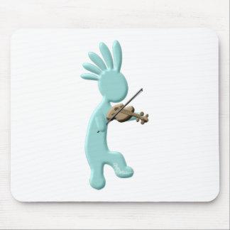 Kokopelli Geige Mousepads