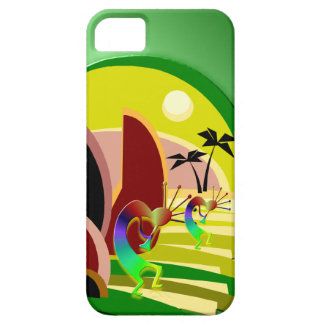 Kokopelli kletternde Treppe zu Sun iPhone 5 Cover