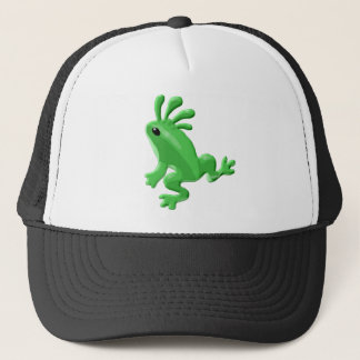Kokopelli Ureinwohner-Amphibien-Frosch Truckerkappe