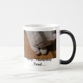 Kokosnuss die Katze--PARTYv Verwandlungstasse