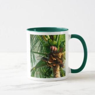 Kokosnuss-Florida-WeihnachtsTasse Tasse