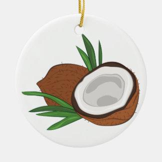 Kokosnuss Keramik Ornament