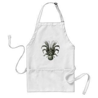 Kokosnuss-Krabbe Schürze