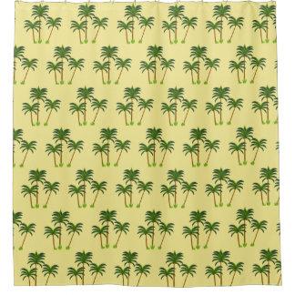 Kokosnuss-Palmen Duschvorhang