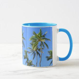 Kokosnuss-Palmen Tasse