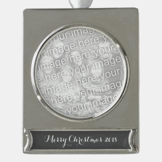 Koksgrauer Normallack fertigen es besonders an Banner-Ornament Silber