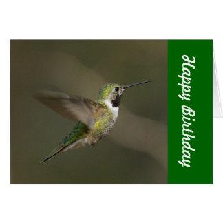 Kolibri-alles- Gute zum Geburtstagkarte Karte