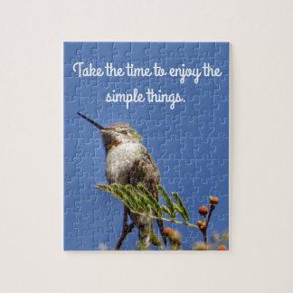 Kolibri auf Niederlassung durch SnapDaddy Puzzle