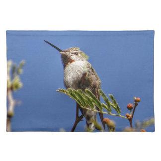 Kolibri auf Niederlassung durch SnapDaddy Stofftischset