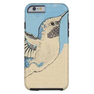 Kolibri-Blau 2 Tough iPhone 6 Hülle