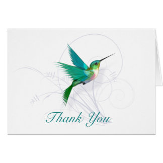 Kolibri danken Ihnen Karte