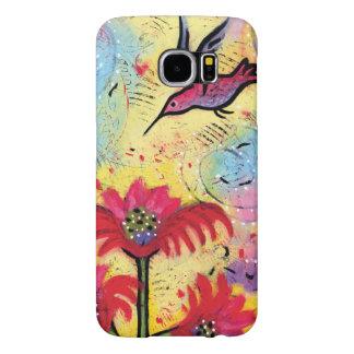 Kolibri-Fantasie-Kunst für Telefon