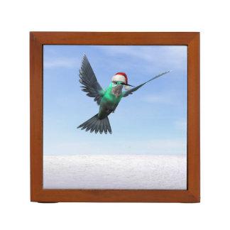 Kolibri für Weihnachten - 3D übertragen Stifthalter