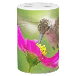 Kolibri-Gänseblümchen-Bad-Set Badset