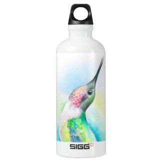 Kolibri-Gesang Aluminiumwasserflasche