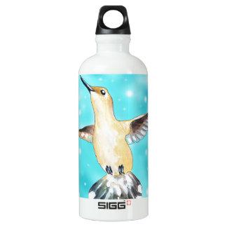 Kolibri-Himmel Aluminiumwasserflasche