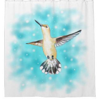 Kolibri-Himmel Duschvorhang