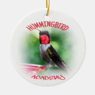 Kolibri-Hochschulverzierung Keramik Ornament