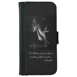 Kolibri im Garten iPhone 6/6s Geldbeutel Hülle