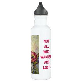 Kolibri-Kunst-wandern rostfreie Wasser-Flasche Edelstahlflasche