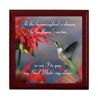 Kolibri-Liebe Geschenkbox