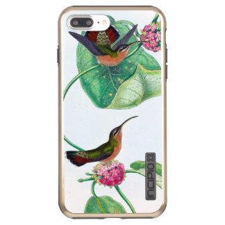 Kolibri-Liebe-Vögel Incipio DualPro Shine iPhone 8 Plus/7 Plus Hülle