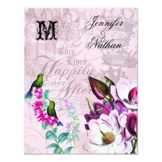Kolibri-Magnolien, die UAWG Karte Wedding sind Karte