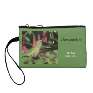 Kolibri-Münzen-Geldbeutel Kleingeldbörse