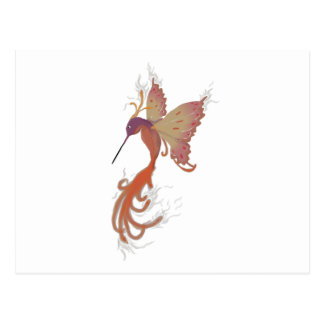 Kolibri Phoenix Postkarte