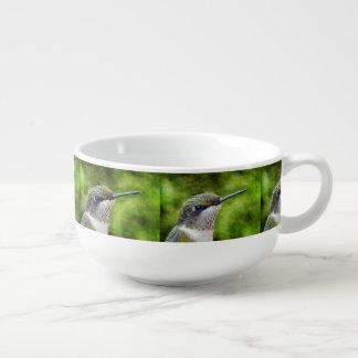 Kolibri-Porträt Große Suppentasse