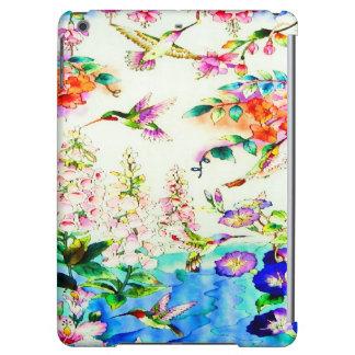 Kolibri-Rosa-Blumen Landschaft