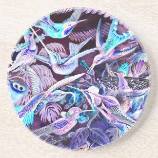 Kolibri-schöne Kunst Untersetzer