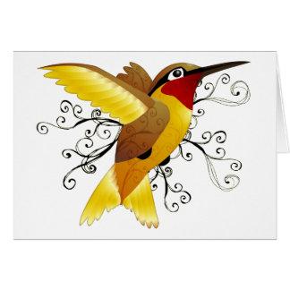 Kolibri-Strudel Karte