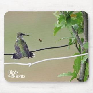 Kolibri-u. Honig-Biene Mauspad