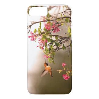 Kolibri und Blumen iPhone 8/7 Hülle