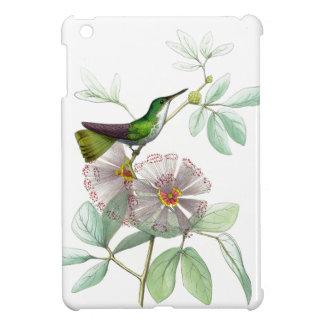 Kolibri-Vogel-Blumen-Blumentier-Tiere iPad Mini Hülle