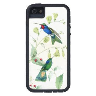 Kolibri-Vogel-Blumen-Blumentier-Tiere Tough Xtreme iPhone 5 Hülle
